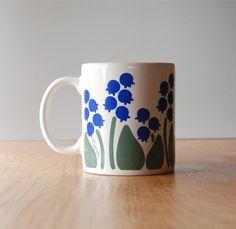 Vintage Nina Lily of the Valley Mug. $10.00, via Etsy.