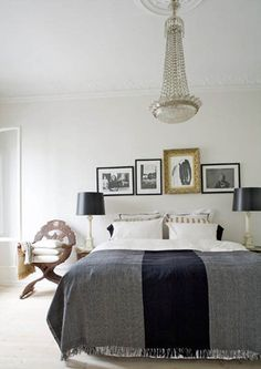 Bedroom Bliss. TheCopenhagen homeof Danish fashion designerMalene Birger.Interior Design: Malene Birger.