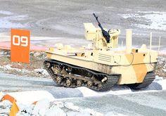2014年4月、ロシアは地上戦闘ロボットの分野で世界をリードする立場であるとNew Scientistなる雑誌で報じられた。ロシアはソ連時代からテレタンクなどの地上戦闘ロボットの技術の蓄積がある。