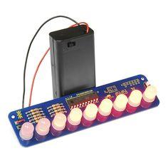 Larson Scanner Kit - 10mm Diffused LEDs - KIT-11365 - SparkFun Electronics