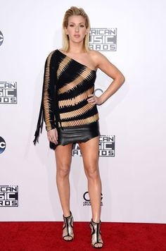Ellie Goulding aux American Music Awards 2015