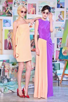 Christian Siriano Resort 2015 Fashion Show Colorful Fashion, Love Fashion, Runway Fashion, High Fashion, Fashion Show, Fashion Images, Dress Fashion, Christian Siriano, London Fashion Weeks