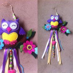 Dertdeva Teyze Production Handmade felt owl