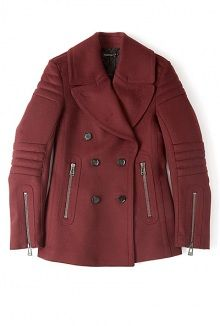 Coats Pea coat and Cotton on Pinterest