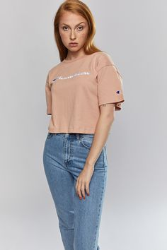 Tops & Tee - Heritage Boxy Script Tee Colour Black, Color, Script, Hair Beauty, Tees, Vintage, Clothes, Style, Fashion