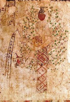 Ancient painting in Tomb of Si Amun, mountain of the dead, Siwa oasis, the Great Sand Sea. Goddess Nut pouring water of life. Ancient Egyptian Art, Ancient Greece, Ancient History, Art History, Egyptian Mythology, Egyptian Goddess, European History, Ancient Aliens, American History