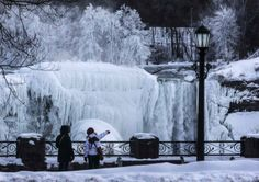 Niagara Falls Freezes Again. Calling It Gorgeous Doesn't Do It Justice.