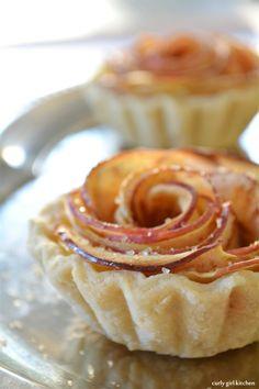 Curly Girl Kitchen: Apple Rose Tarts