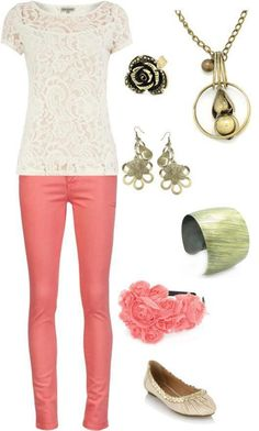 Perfect outfit for summer and the accessories are only $5! www.billiesbling.weebly.com