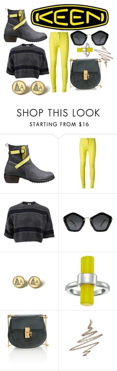"""""""Another Day= Another Dawn"""" by alexandm ❤ liked on Polyvore featuring Keen Footwear, Ann Demeulemeester, Brunello Cucinelli, Miu Miu, French Connection, Chloé, Anastasia Beverly Hills, contestentry and keen"""