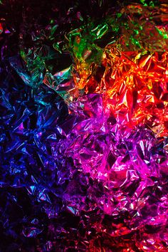 Tin Foil and Coloured Lights
