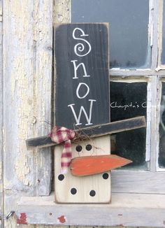 PRIMITIVE Snowman Wood Sign Door Rustic Christmas Country Home Decor is part of Country Christmas crafts - Christmas Wood Crafts, Christmas Projects, Christmas Holidays, Christmas Wood Decorations, Winter Wood Crafts, Christmas Snowman, Christmas Christmas, Diy Snowman Decorations, Christmas Wreaths