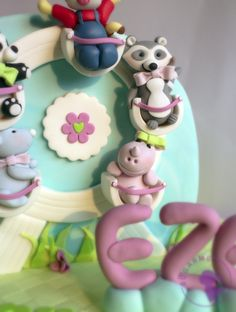 Ferris Wheel Cake by Sugar Me Kissery