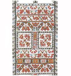 FolkCostume: Embroidery of Sofia Area, Shope region, Bulgaria