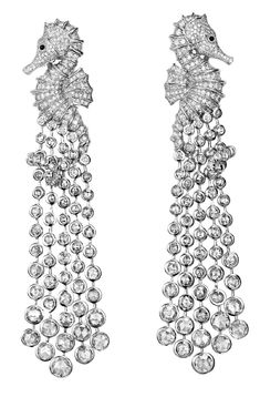 Chopard Diamond Seahorse Earrings