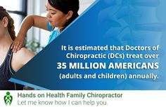 Doctor Of Chiropractic, Chiropractic Clinic, Family Chiropractic, Holistic Approach, I Can, Hands, Let It Be, Health, Health Care
