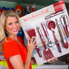 Get a free KitchenAid sample to add to your kitchen gadget collection! Take a short survey to qualify.