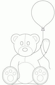 Balloon Teddy by Bird