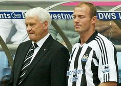 EXCLUSIVE: Former England striker Alan Shearer has revealed that the late Sir Bobby Robson saved his career from fizzling out. Shearer is the Premier League's record goalscorer with 260 goals Pure Football, Football Stuff, Cristiano Ronaldo Manchester, Bobby Robson, Newcastle United Football, Alan Shearer, St James' Park, Great North, Sport Hall