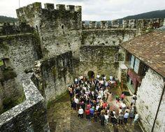 El castillo de Moeche, del siglo XIV, puede visitarse en horario de mañana y tarde.