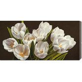Found it at Wayfair - Global Gallery 'Bouquet di tulipani' by Serena Biffi Stretched Canvas Art