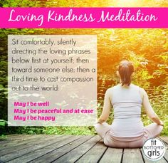 Set a few minutes aside today to do this simple loving kindness meditation. You deserve it.