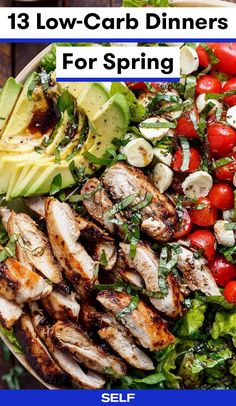 13 Low-Carb Dinner Recipes For Spring | SELF