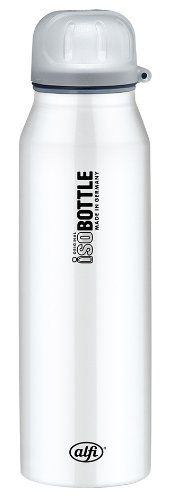 alfi 5337.658.050 Isolier-Trinkflasche isoBottle, 0,5 L, edelstahl, rein weiß - http://geschirrkaufen.online/alfi/rein-weiss-alfi-5337-696-050-isolier-trinkflasche