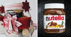 Ihr habt weniger Müll und tolle Wohnaccessoires zum Preis eines Brotaufstrichs, den ihr sowieso kauft. Wenn das mal keine perfekte Lösung für leere Nutella-Gläser ist...