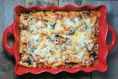 Turkey & Kale Baked Ziti {Greek Style} - My Texas Kitchen Healthy Pregnancy Food, Pregnancy Meals, Pregnancy Nutrition, Pregnancy Stages, Chili Pasta, Kale Recipes, Healthy Recipes, Healthy Options, Healthy Meals