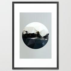 Island at Sea Framed Art Print