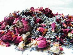 A really simple potpourri is just to mix dried lavender with dried rose buds or petals more advice from blog at driedflowercraft.co.uk