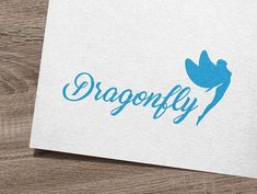 Dragonfly Logo by IKarGraphics on @creativemarket