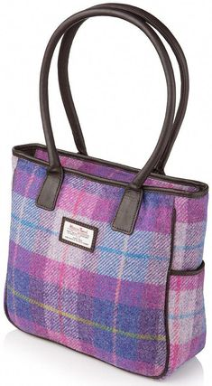 Becca Harris Tweed and Leather Handbag in Candy . This is one off my best  colours db492d7c072fb