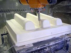 Centro de mecanizado CNC / 5 ejes / vertical / para compuestos - MATRIX 1000-1300 - Breton - Vídeos