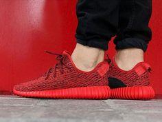 Kanye x adidas Yeezy 350 Boost: Red