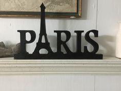 Muestra de París París de la palabra signo muestra de