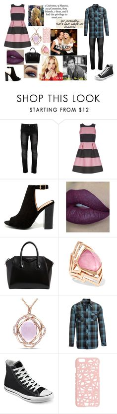 """""""Pretty Little Liars: Haleb"""" by teenwolfmoosic on Polyvore featuring Luxe, Bamboo, Givenchy, Stephen Webster, Miadora, Flylow, Converse, Love Quotes Scarves and Miss Selfridge"""