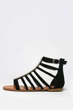 Bamboo Flat Gladiator Sandal from Shoptiques