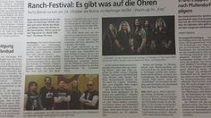 Preview Ranch-Festival, Hechingen Press Release, Band, Crystal Ball, Sash, Bands