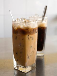 Vietnamese iced coffee - available throughout Asia. I have discovered condensed milk and there's no going back!!