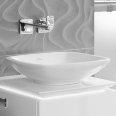 Loop countertop basin (square)