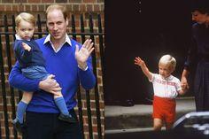 Baby George à la découverte de sa petite soeur