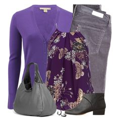 Purple, created by daiscat on Polyvore