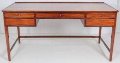 Danish Rosewood Writing Desk image 2