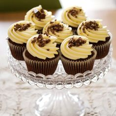 Tasty Toblerone Cupcakes