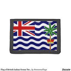 Flag of British Indian Ocean Territory Tri-fold Wallet