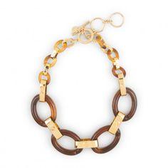 Necklaces for Women - Tortoise Deco Necklace C Wonder