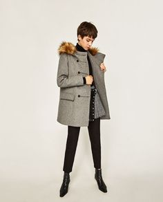 HOODED TRENCH COAT-Coats-OUTERWEAR-WOMAN | ZARA Israel