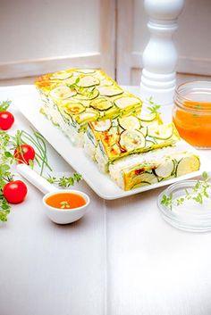 recette-flan de courgette-recettes-preparées à l'avance avec Companion de Moulinex